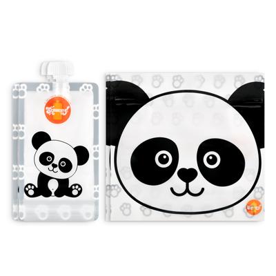 Pack 4 Pacotes reutilizáveis Panda 2 Beber + 2 Sandes