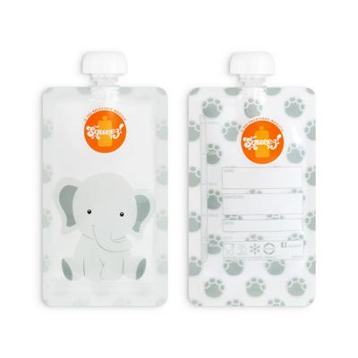 Pacotinho Reutilizável Squeez! AVULSO Elefante 150ML