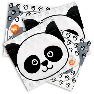Pack 4 - Saquetas Reutilizáveis Panda