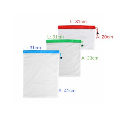 Kit 3 Sacos de Rede Laváveis