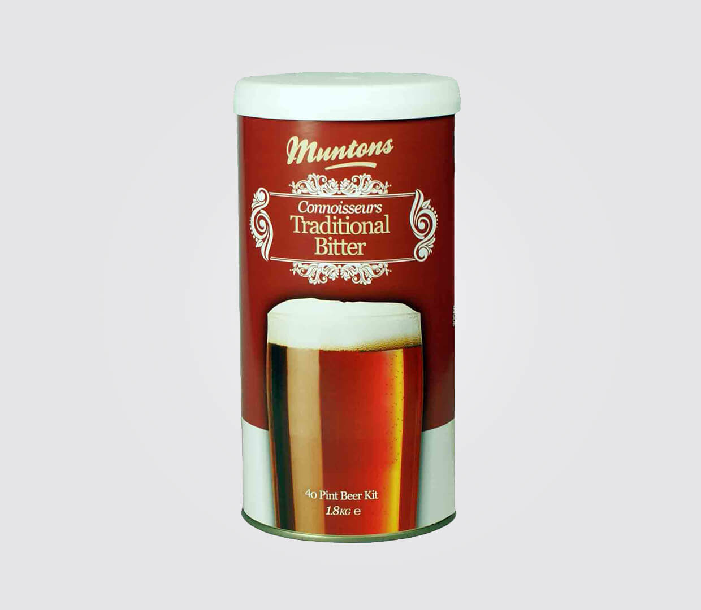 Kit de Cerveja Muntons Connoisseurs Traditional Bitter - 23L