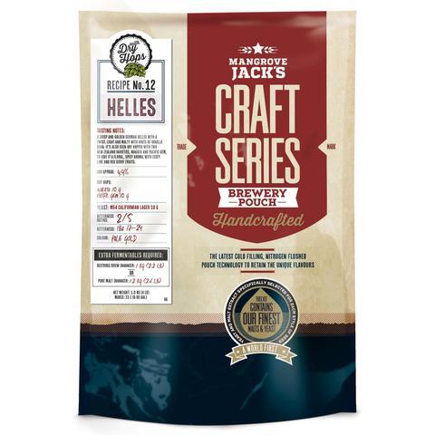 Kit de cerveja Mangrove Jack´s Helles (Dry Hops) - 23L