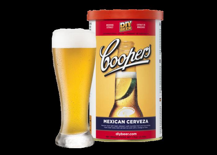 Kit de cerveja Coopers Mexican - 23L