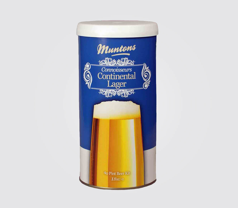 Kit de cerveja Muntons Connoisseurs continental lager - 23L