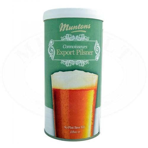 Kit de Cerveja Muntons Connoisseurs Export Pilsner - 23L