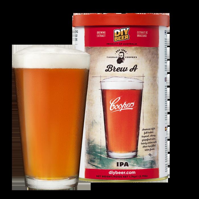 Kit de cerveja Coopers Brew a IPA - 23L