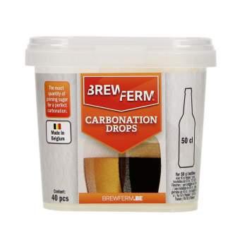 Drops de carbonatação Brewferm - 50cl - 40 un.