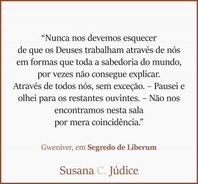 Frases: Gweniver - Segredo de Liberum