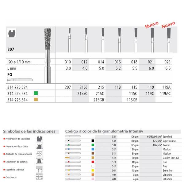 FG 115/6 807-018 FG DIAM. MEDIO 6U.