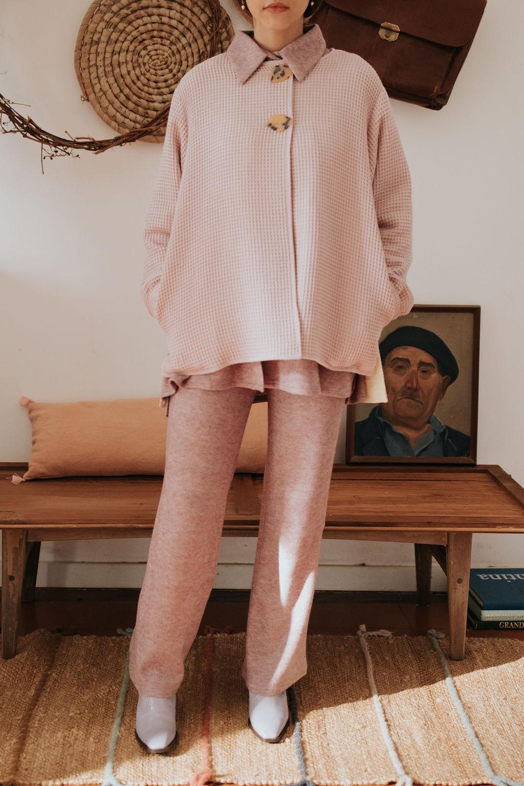 Calças de Malha Shirley