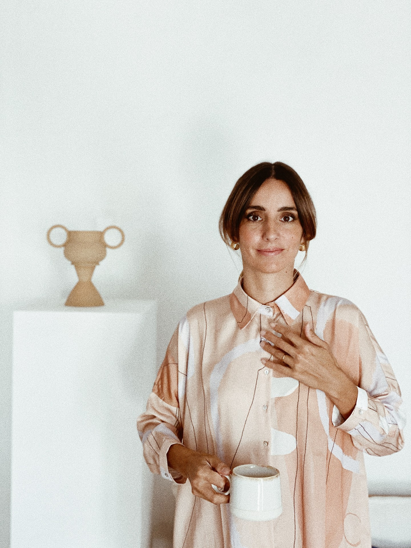 Camisa Shell - Nude