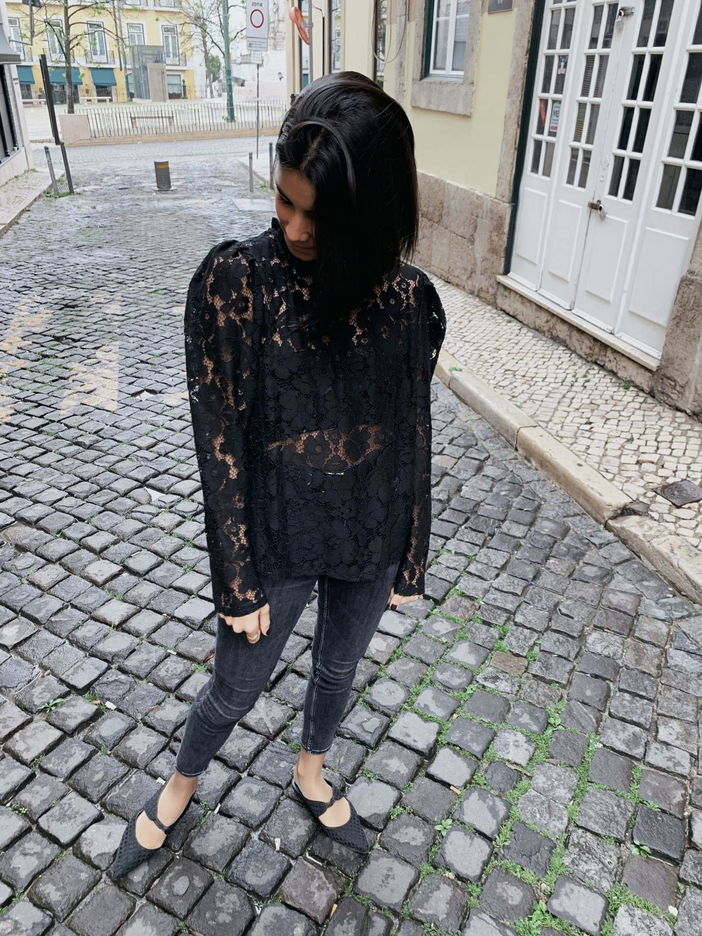 Camisa Lace
