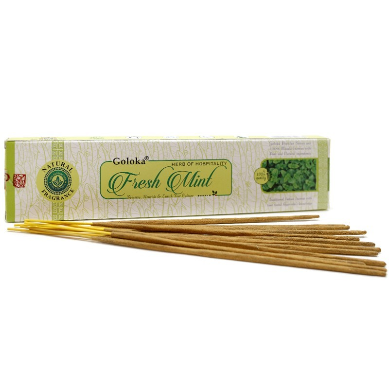 Varetas Incenso Goloka Fresh Mint - Menta