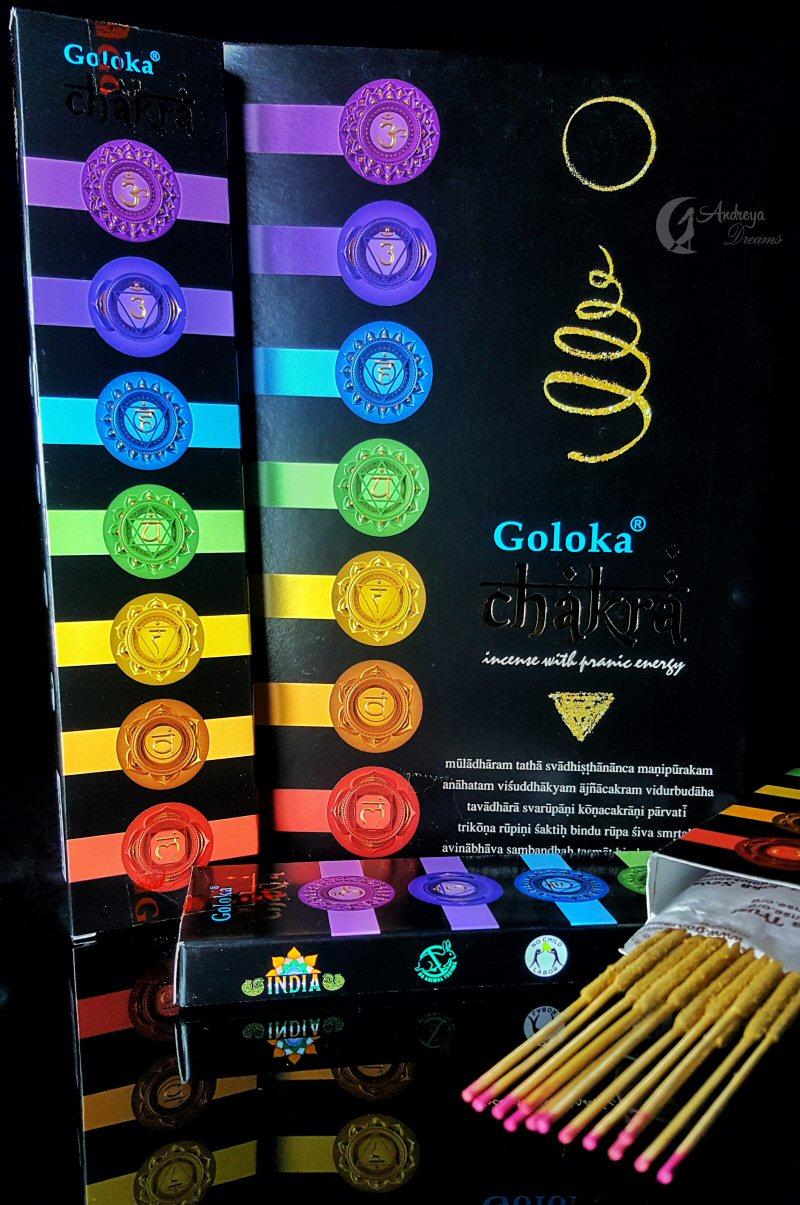 Incenso Goloka Chakra