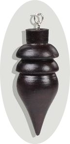 Pêndulo Egípcio de Madeira 2 aneis
