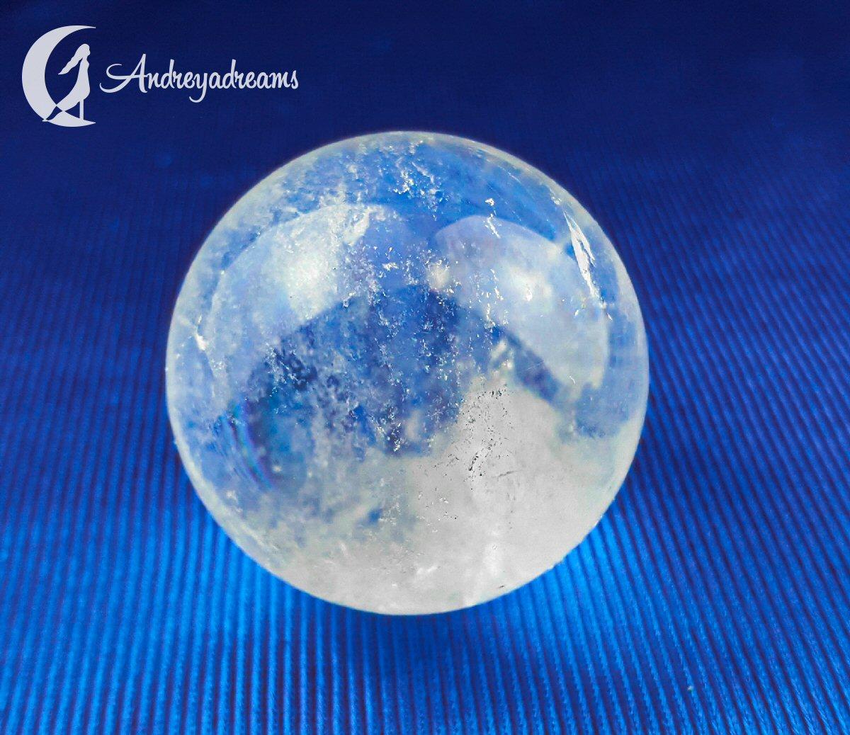 Esfera de Quartzo Cristal 6cm