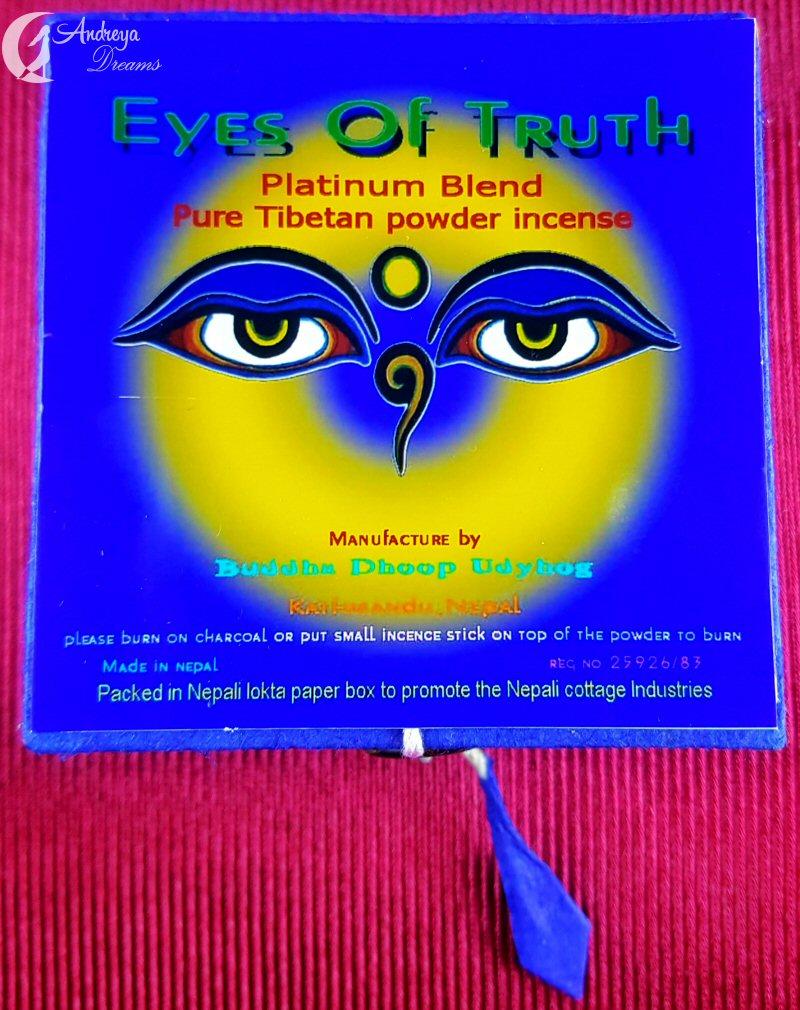 Incenso em Pó - Eyes of Truth