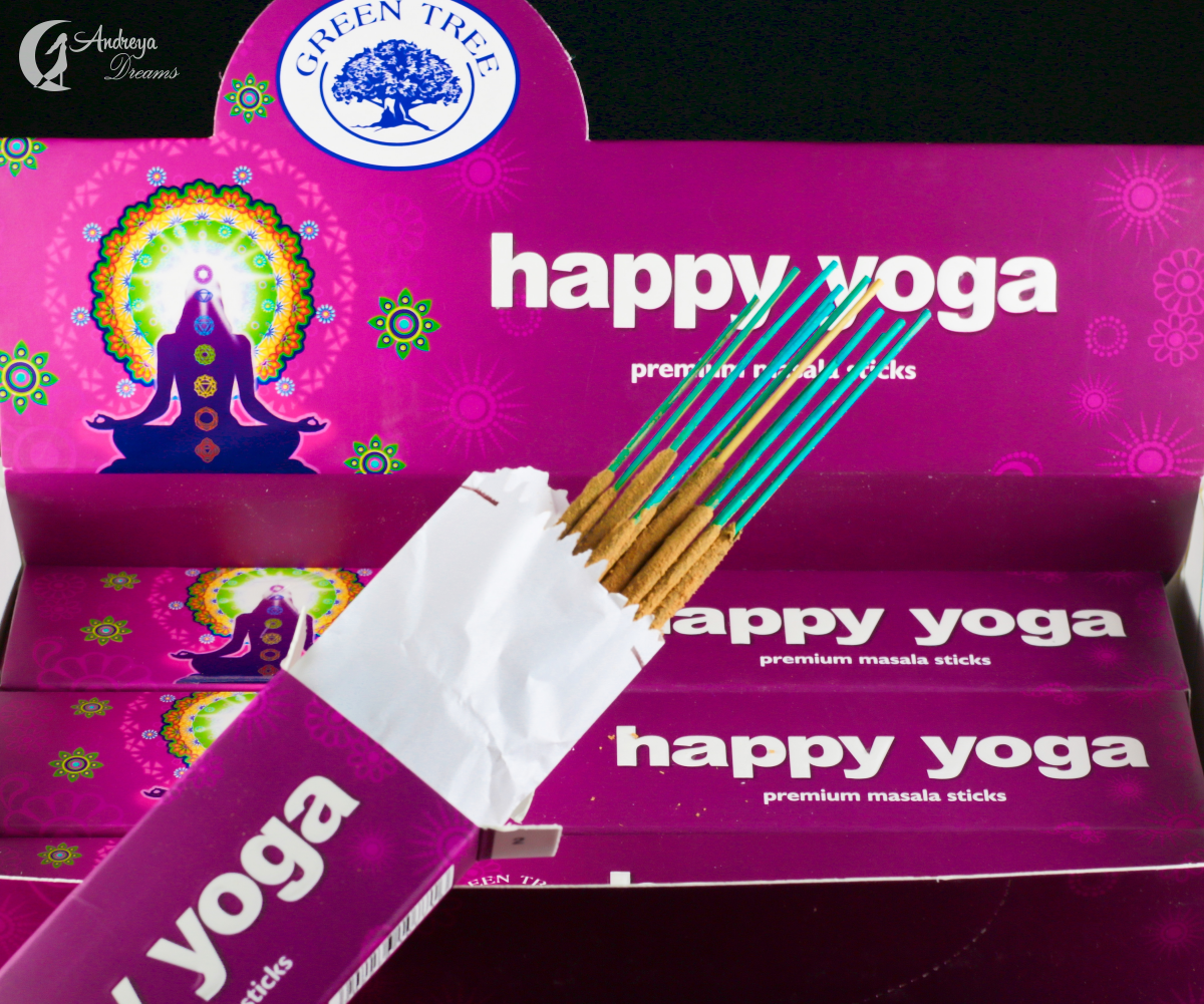 Incenso Happy Yoga - Green Tree