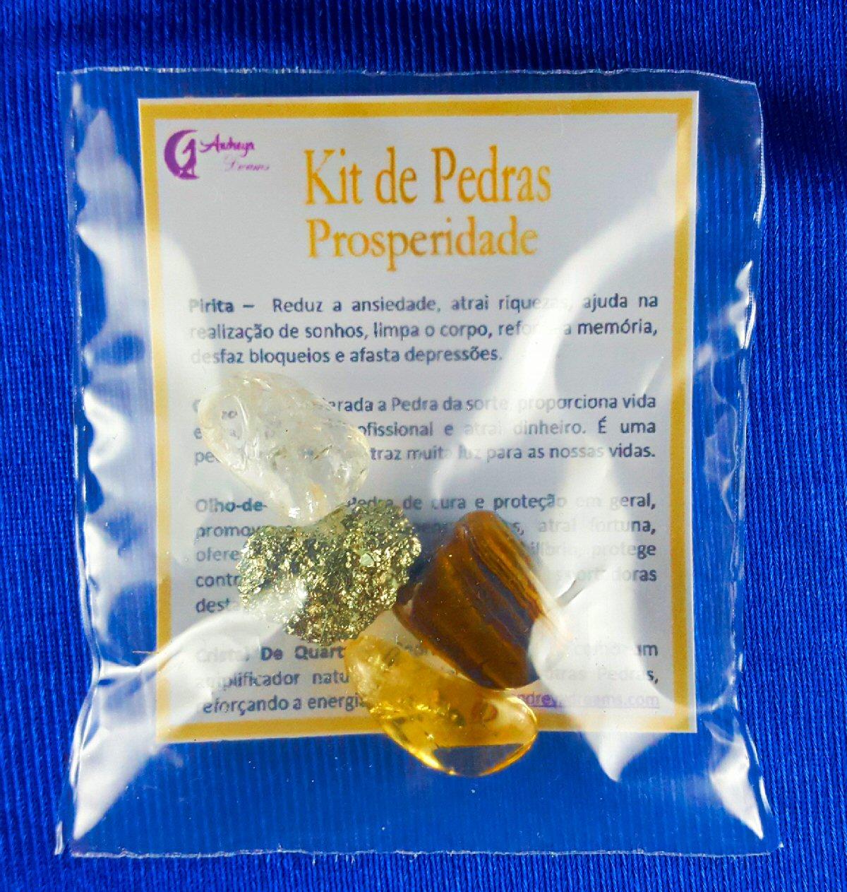 Kit Pedras Prosperidade