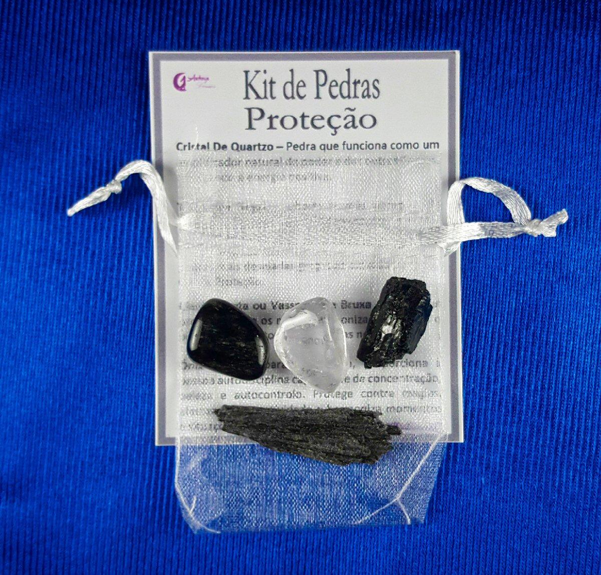 Kit Pedras Proteção