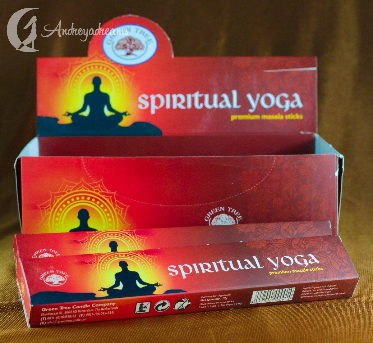 Incenso Spiritual Yoga