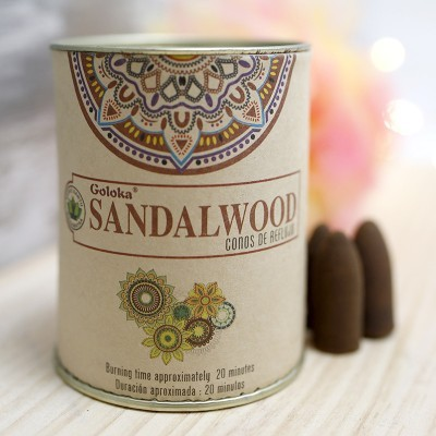 Incenso Refluxo Sandalwood