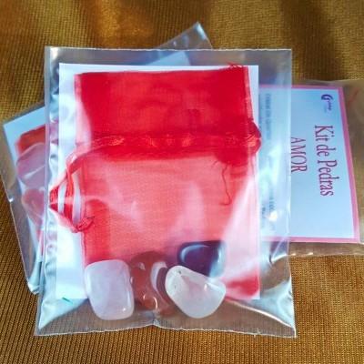 Kit Pedras Amor
