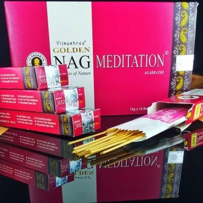 Incenso Golden NAG - Meditation