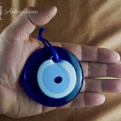 Olho Turco de Vidro 7cm