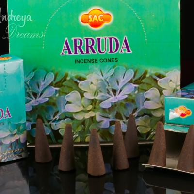 Cones de Incenso Arruda