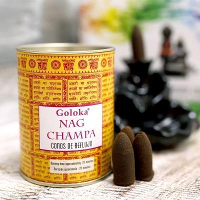 Incenso Refluxo Goloka - Nag Champa