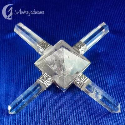 Gerador de Energia - Quartzo Cristal de 4 Pontas