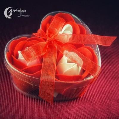 Rosas de Sabão Vermelhas