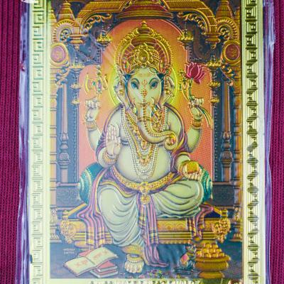 Íman Ganesha Dourado