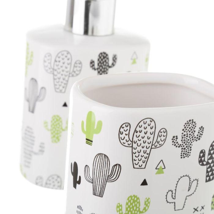 Conjunto Banho Cerâmica (Catos)