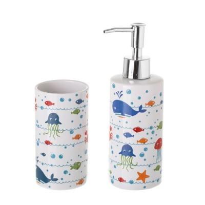 Conjunto Banho Cerâmica (Aquário)
