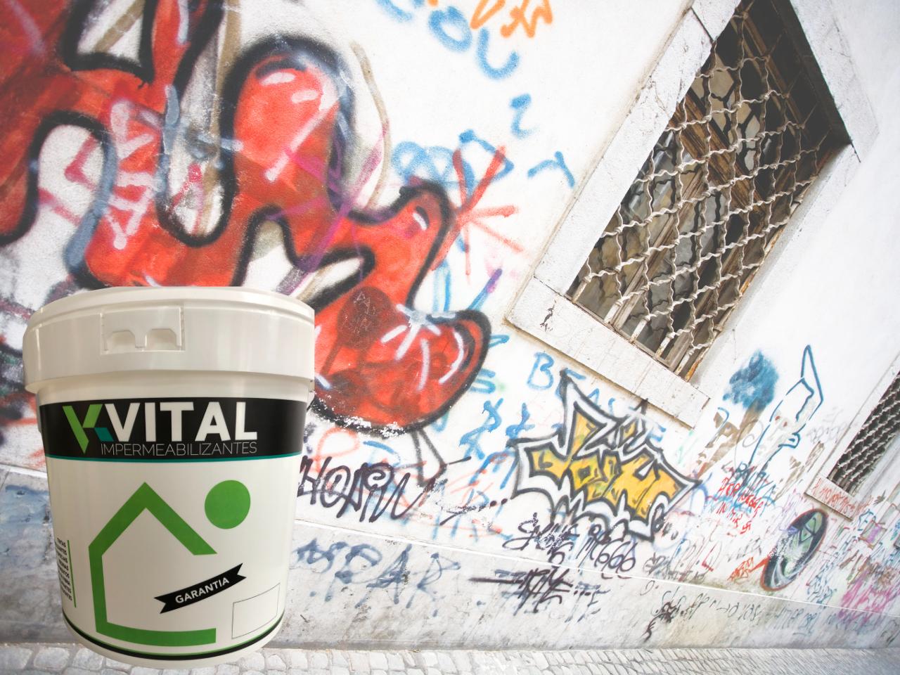 Proteção repelente anti-graffiti