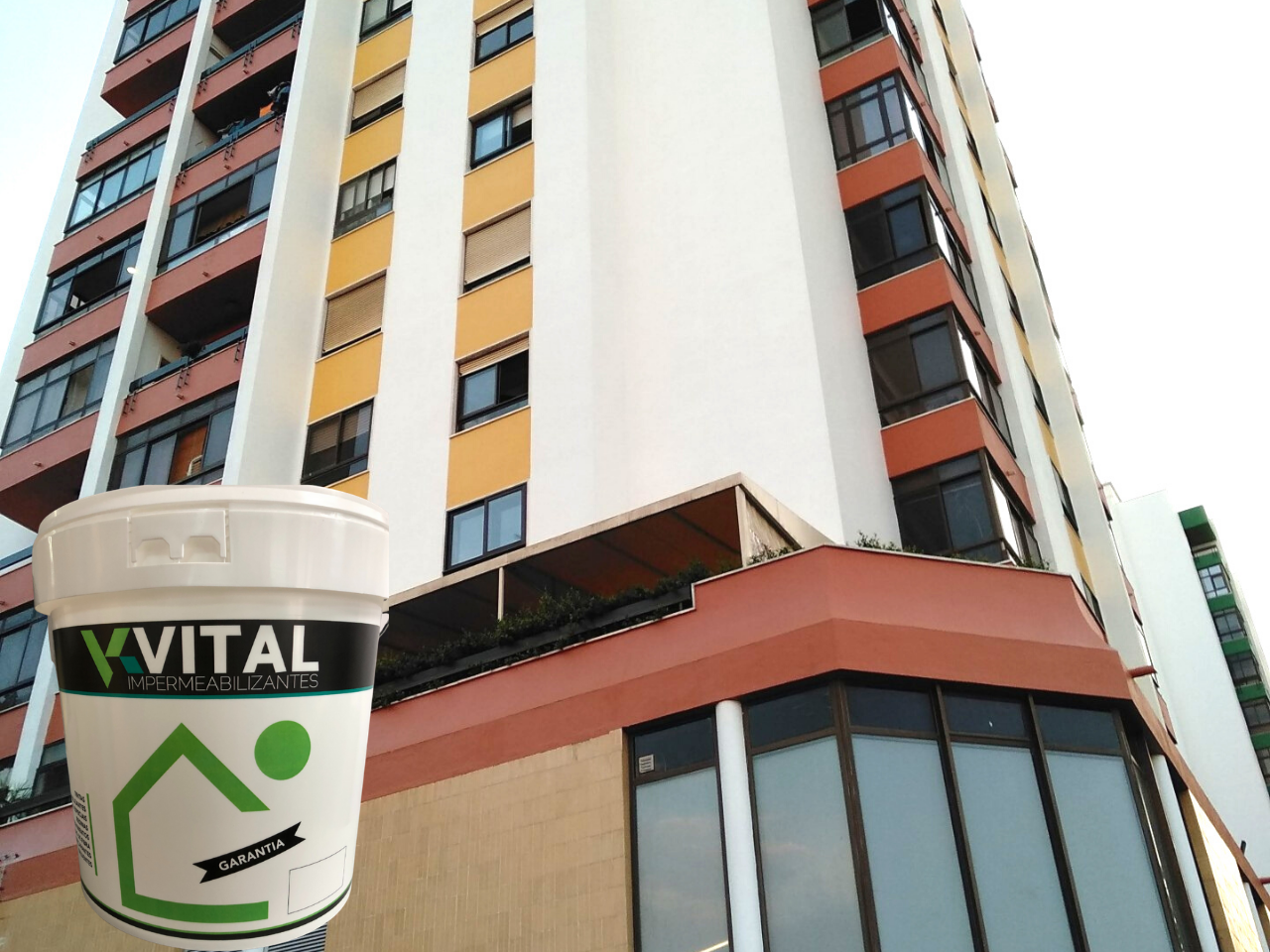 Membrax - Revestimento elástico de fachadas Acrilica 100%