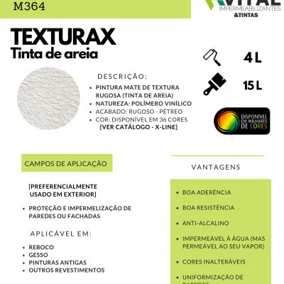 TEXTURAX TINTA DE AREIA BRANCO 4 e 15 L