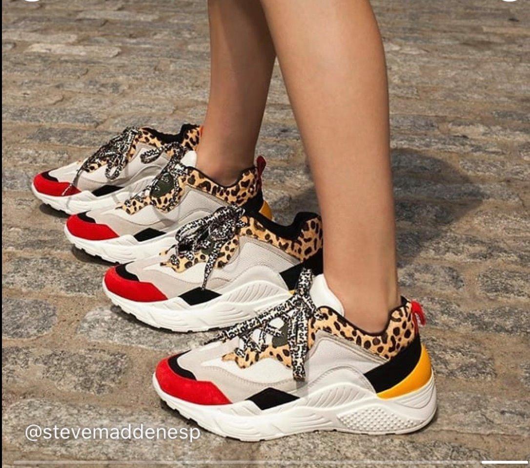 Sneakers Steve Madden vermelho