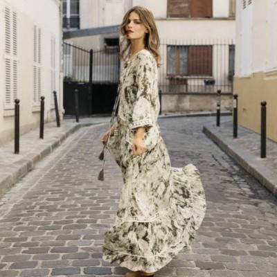 Vestido comprido Miss June LOVA