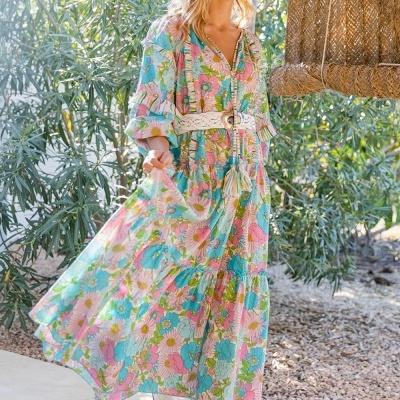 Vestido Miss June FLORALIES