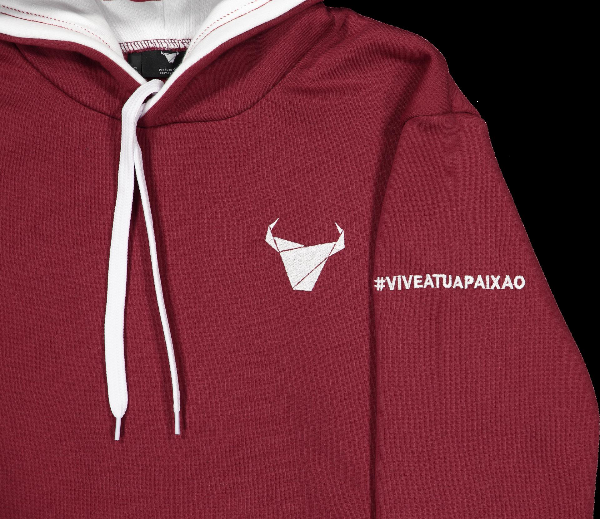 Sweat Toiro/Unisexo/Bordeaux