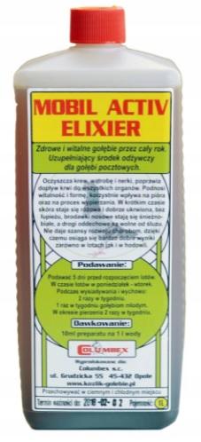 MOBIL ACTIV ELIXIER – 1000 ML