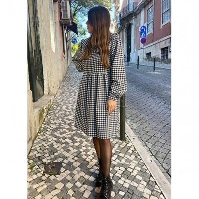 Vestido Bordeux