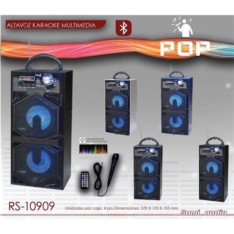 Altavoz Bluetooth Sami c/micro Sd/FM Cores Diversas RS-10909