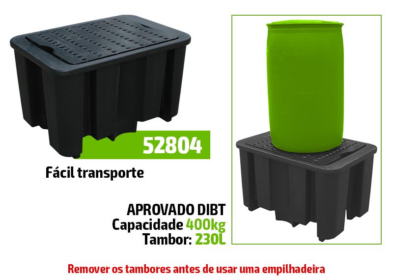 TANQUE DE ARMAZENAMENTO DE TAMBOR - 4 TAMBORES VERTICAIS 52806