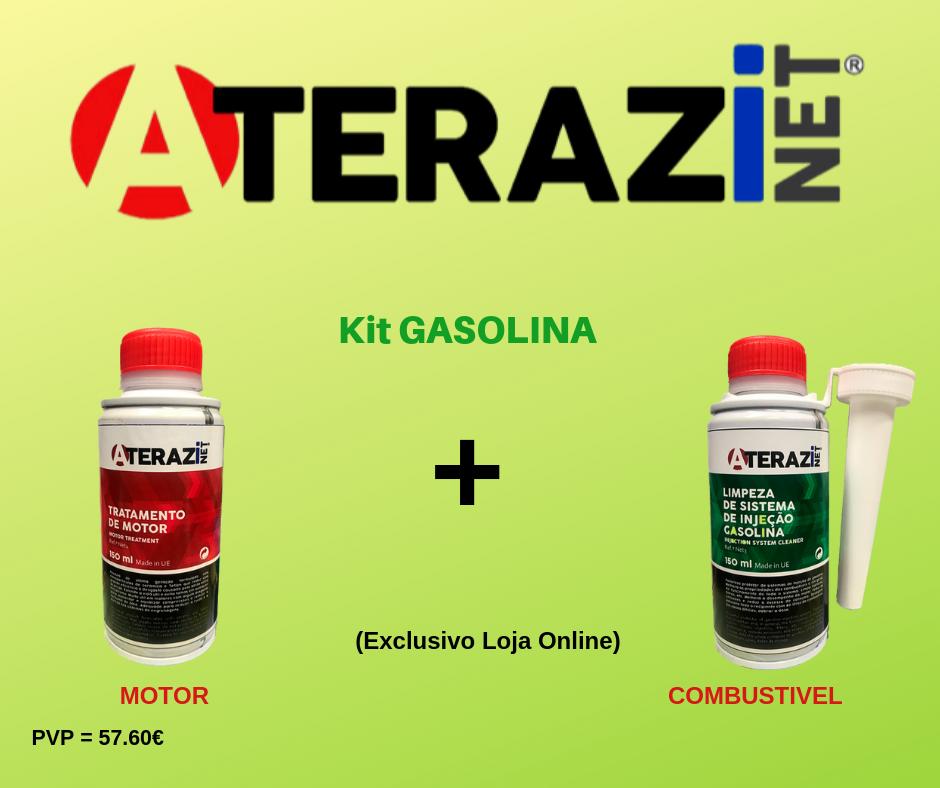 Aditivo Tratamento de Motores + Limpeza Sistema Injecção Gasolina (KIT Gasolina)