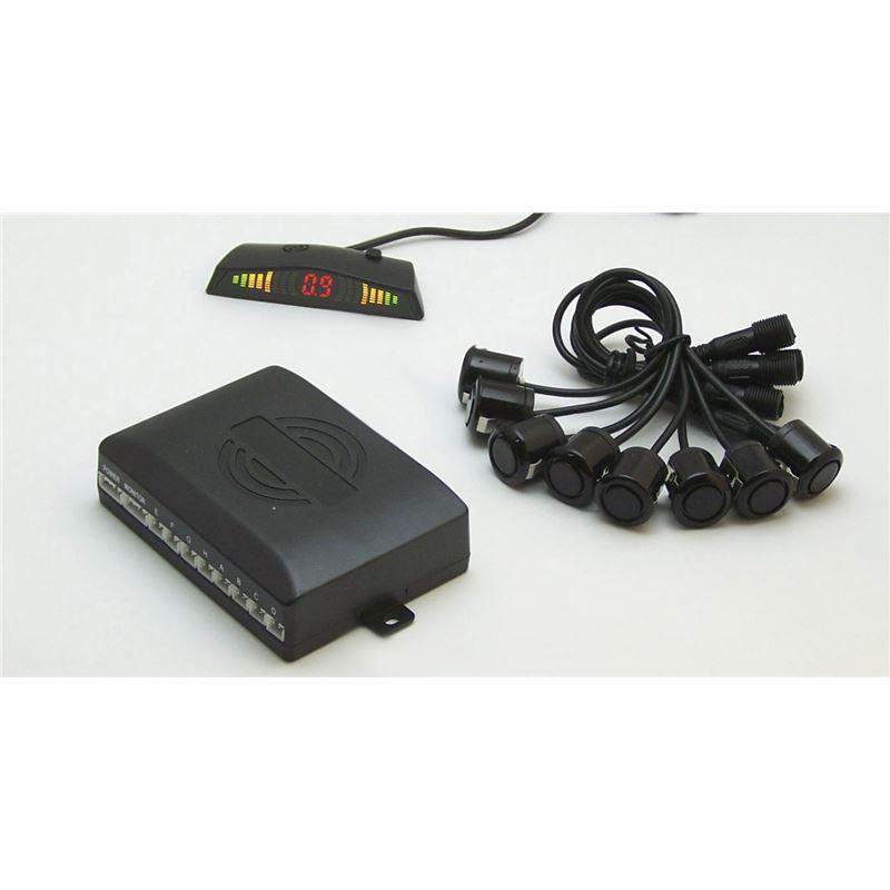 Kit 8 Sensores c/ Buzzer e Display de Leds LKKP800M