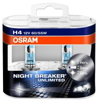 Kit Lampadas OSRAM H4 NIGHT BREAKER